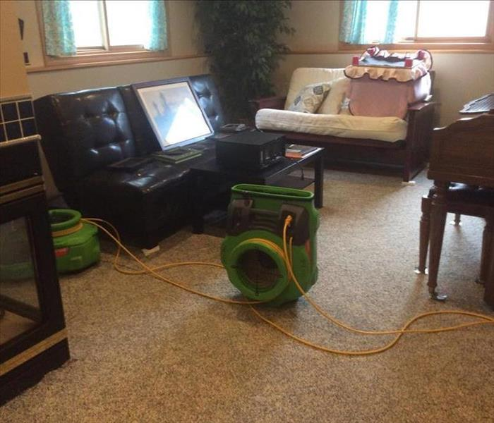 Residential Water Damage in Jenison, MI After