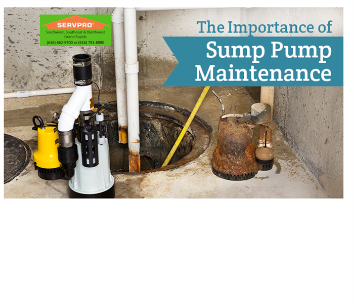 Water Damage Sump Pump Maintenance
